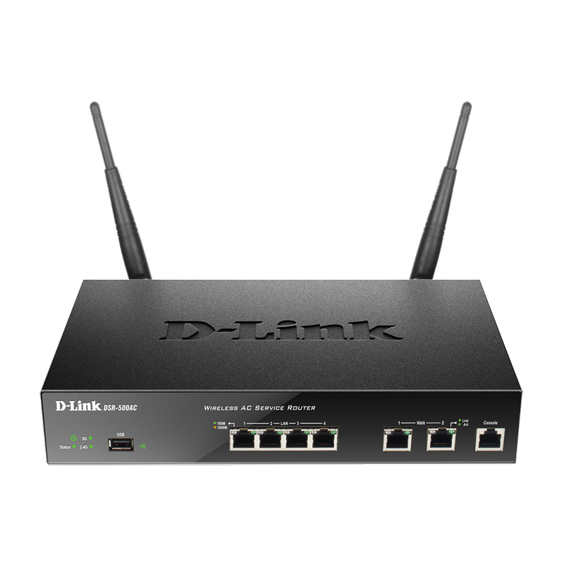 D-Link Unified Wireless AC1200 Services Router with Dual Gigabit WAN Interfaces