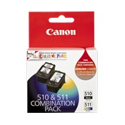 PG510CL511CP - 1 x PG510 Black + 1 x CL511 Colour cartridges