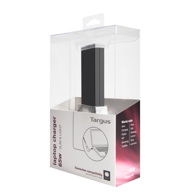 Targus APA047AU 65W Slim and Light Laptop Power Adapter