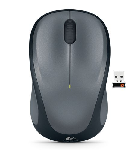 Logitech 910-003384 M235 Wireless Mouse - Colt Grey