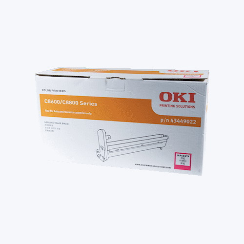 OKI Magenta Drum Unit for C8600N (Up to 20 000 @ 3 pages per job)
