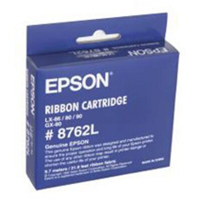 Epson Black Ribbon Cartridge to suit GX-80 LX-80 LX-86