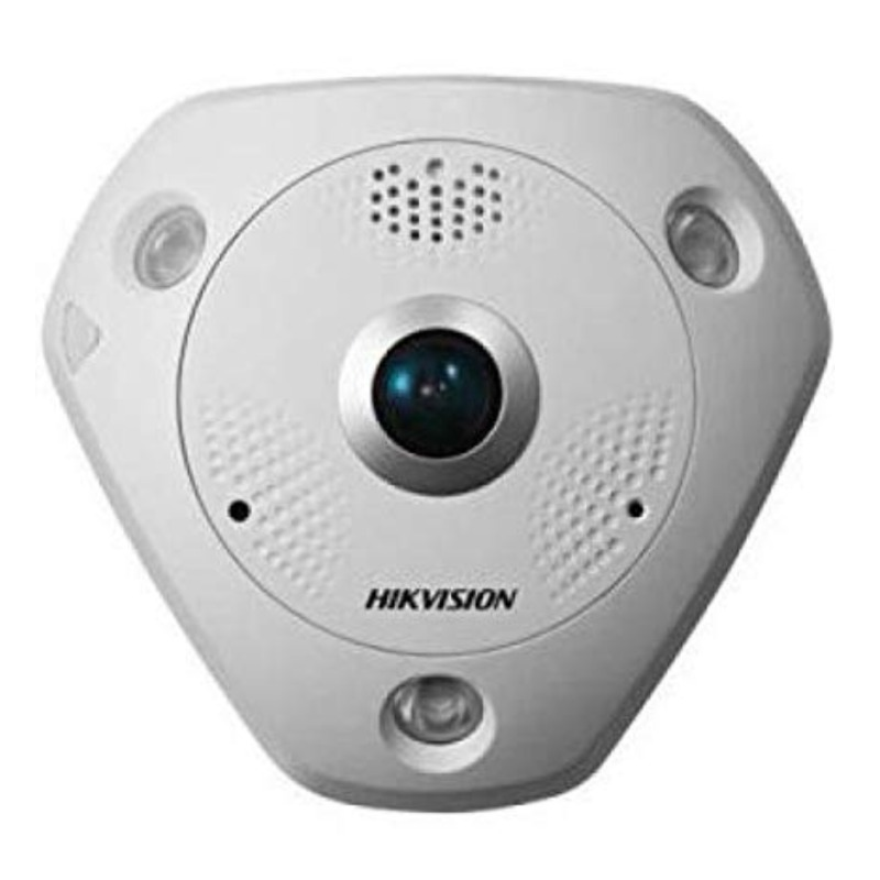 Hikvision DS-2CD6362F-IV 6MP Outdoor Fisheye 360, 3D DNR, DWDR, IR, IP66