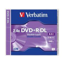 DataLifePlus DVD+R Dual Layer 8.5GB Jewel Case 1 Pack 2.4x