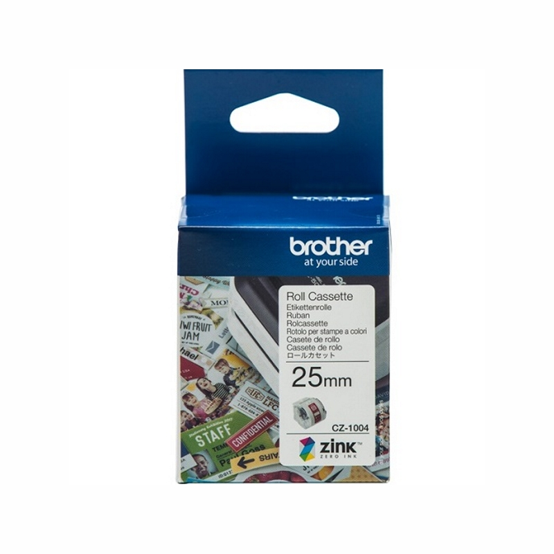 Brother CZ-1004 25mm Cassette Roll, 5m Length
