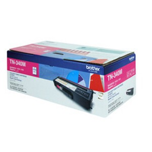 Brother TN-340M Magenta Toner Cartridge (1,500 Yield @ 5%)