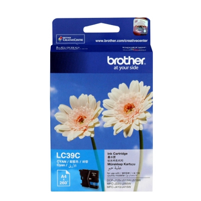 Brother LC-39C Cyan Ink Cartridge