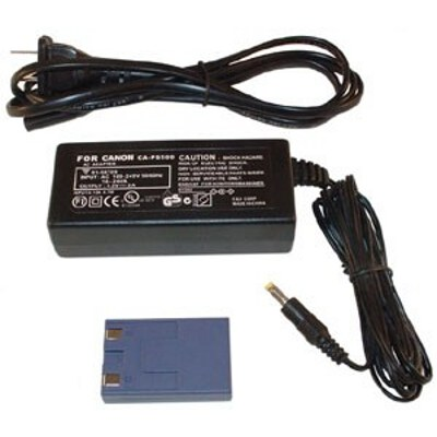 Canon ACK500 AC Adaptor Kit inc CA-PS500 and DR-500 to suit IXUS V/V2/V3/300/330/400/430/500