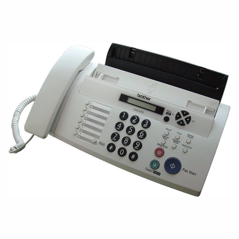 Brother FAX-878 Plain Paper Thermal Transfer FAX