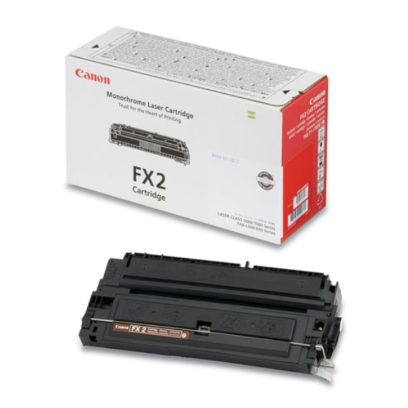 Canon FX/2 Toner Cartridge for L500, L600 (2700 pages @ 4%)