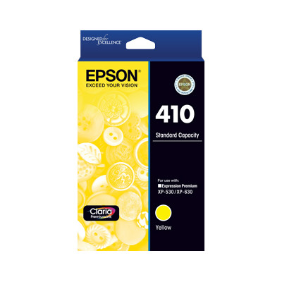 Epson C13T338492 Std Capacity Yellow Ink Cartridge (Yields up to 300 pages)