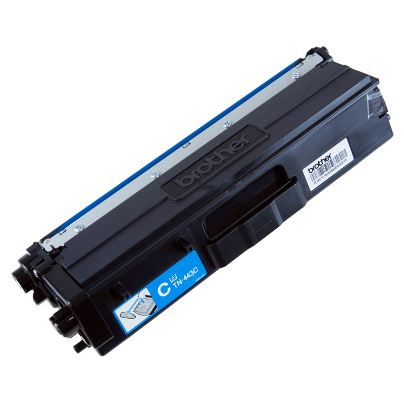 Brother TN-443C High Yield Cyan Toner, 4000 Pages