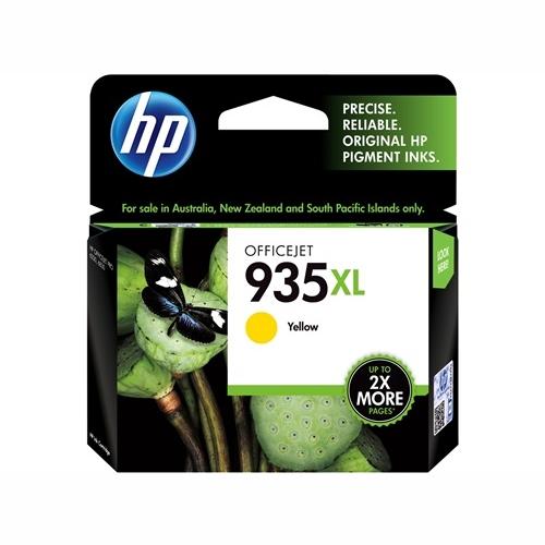 HP C2P26AA #935 XL High Yield Yellow Ink Cartridge (825 page yield)
