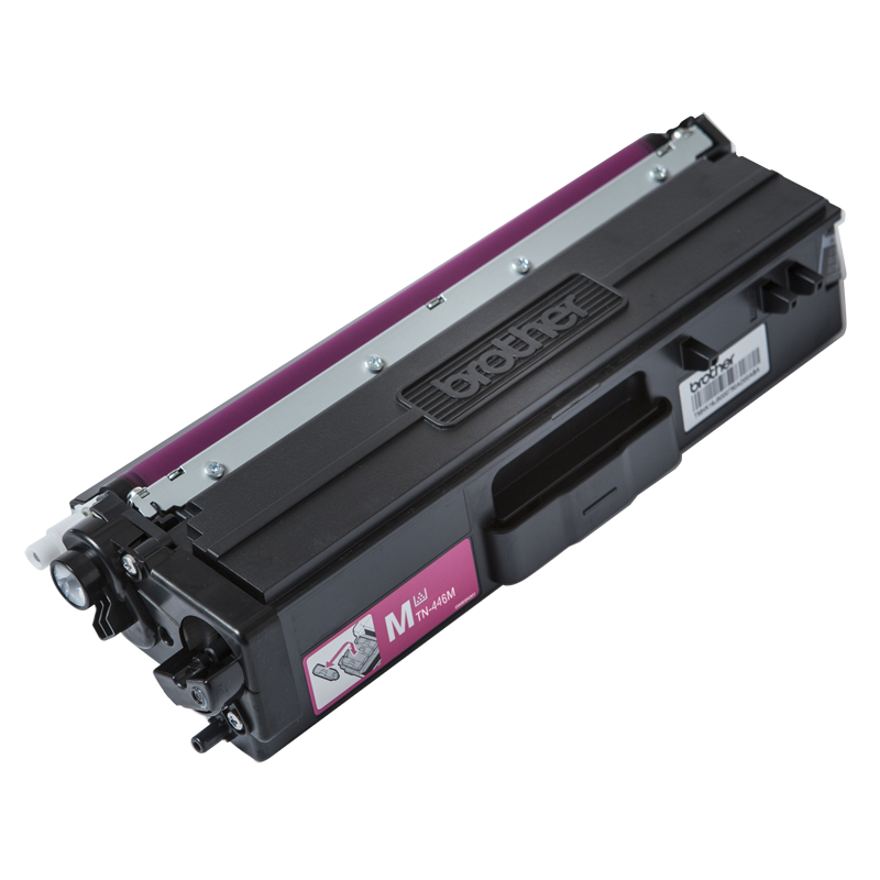 Brother TN-446M Super High Yield Magenta Toner, 6500 Pages