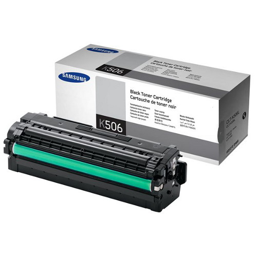 Samsung CLT-K506L Black Toner for CLP-680, CLX-6260 (Average 6,000 page yield)
