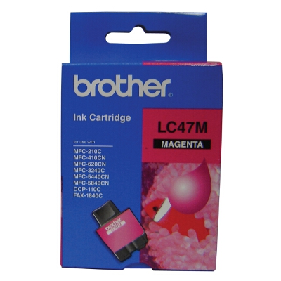 Brother Magenta Ink Cartridge for DCP-110C/MFC210C/410CN/620CN