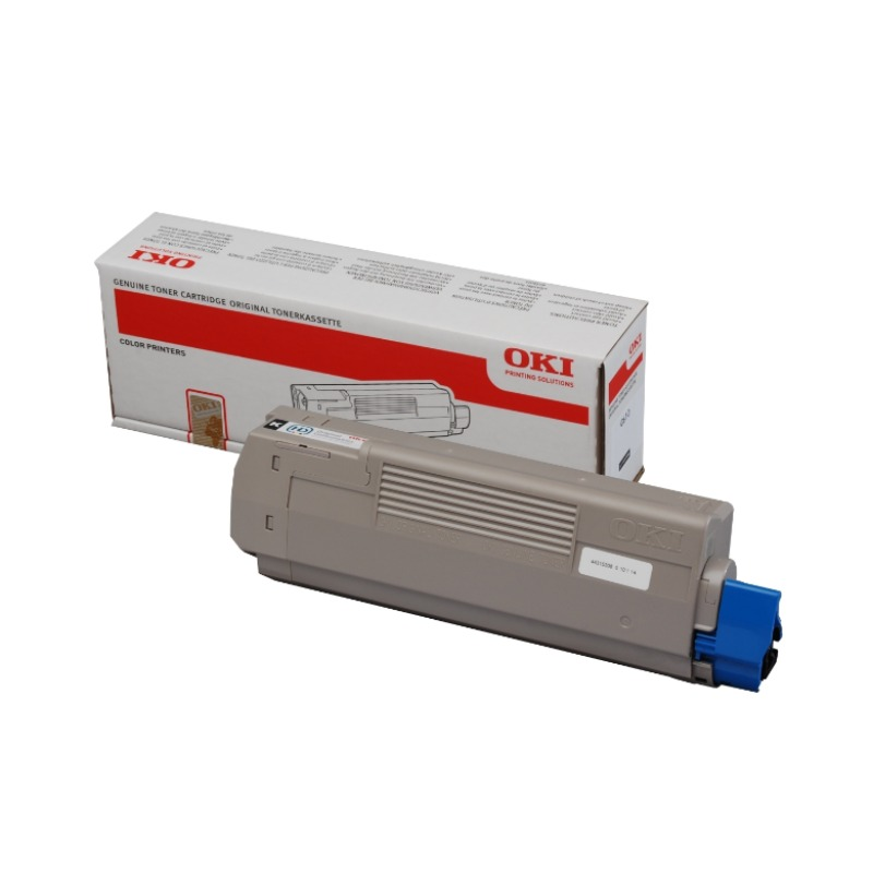 OKI 45807103 Toner Cartridge For B412/B432/B512/MB472/MB492/MB562; 3,000 Pages