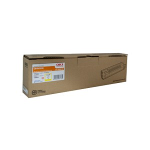 OKI 44643021 Toner Cartridge For MC852 Yellow (7,000 Pages @ ISO)