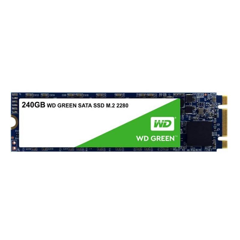 Western Digital WDS240G2G0B Green 3D NAND SSD, 240GB M.2 SATA