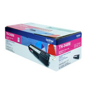 Brother TN-348M Magenta Toner Cartridge (6,000 Yield @ 5%)