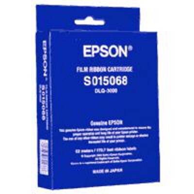 Epson C13S015068 Black Film Ribbon Cartridge to suit DLQ-3000, DLQ-3000+