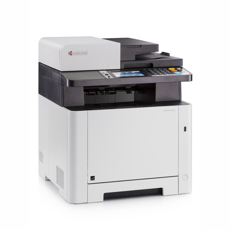 Kyocera M5526CDW 26ppm Colour Laser Multifunction - Print, Copy, Scan, Fax, Ethernet and Wireless