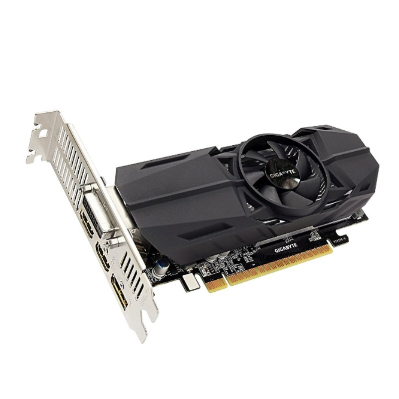 Gigabyte GV-N105TOC-4GL nVidia GeForce GTX 1050 Ti OC, 4GB Low Profile Graphics Card
