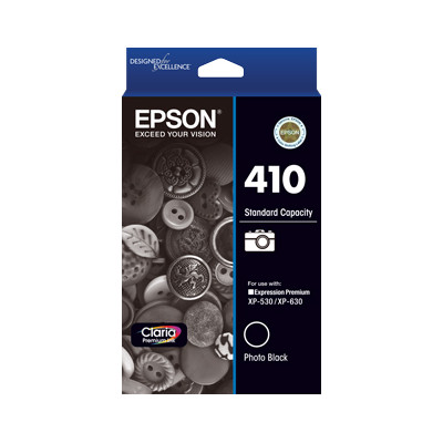 Epson C13T338192 Std Capacity Photo Black Ink Cartridge (Yields up to 300 pages)