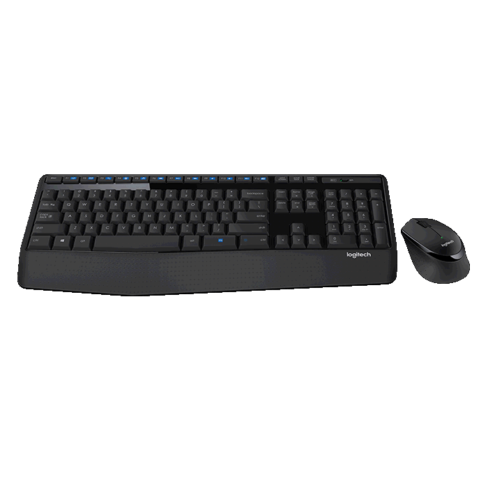 Logitech 920-006491 MK345 Wireless Keyboard and Mouse