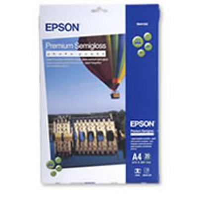 Epson Premium Semigloss Photo Paper A4