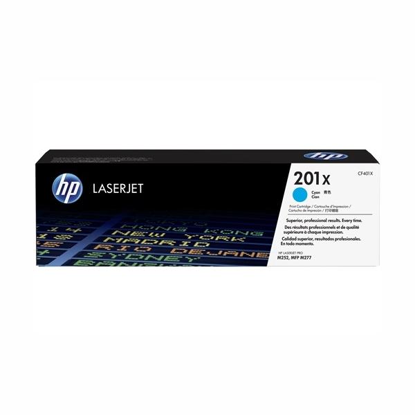 HP CF401X #201X High Yield Cyan Toner Cartridge (2,300 Yield)
