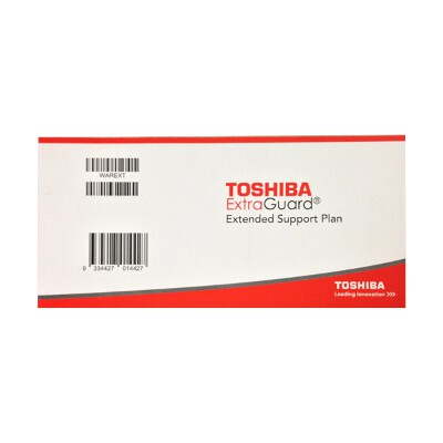 Toshiba Extended 3 Year Warranty Satellite and Satellite Pro (Physical item needs to be registered)
