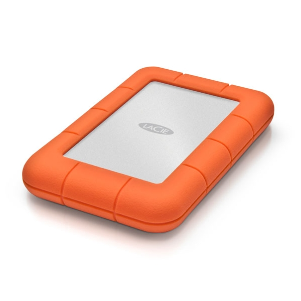 LaCie STFS500400 500GB SSD Rugged Thunderbolt and USB-C Portable Drive