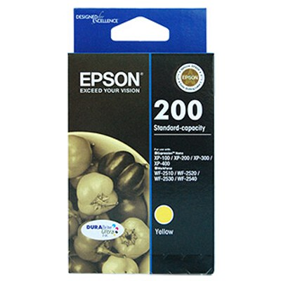 Epson C13T200492 Standard Capacity Ultra Yellow Ink (Yields up to 165 pages)