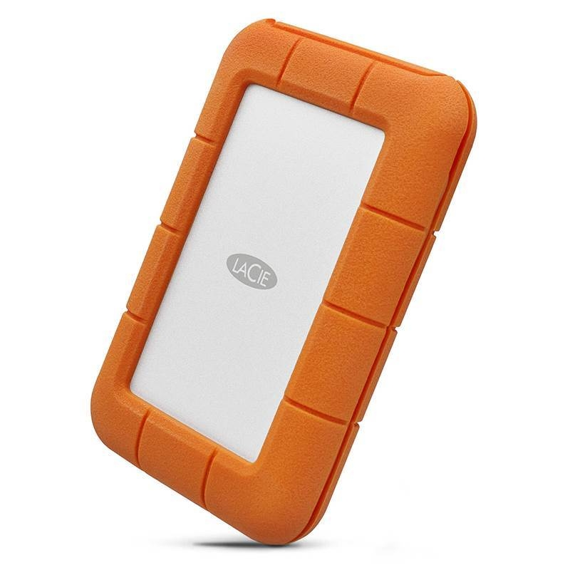 LaCie STFR4000800 4TB Rugged USB-C Portable Drive