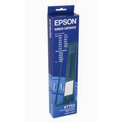 Epson C13S015021 (7753) Black Fabric Ribbon