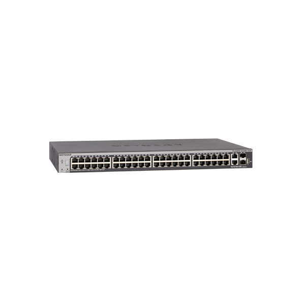 Netgear GS752TX ProSafe 48 Port Gigabit Stackable Smart Switch, 4 x 10G Ports