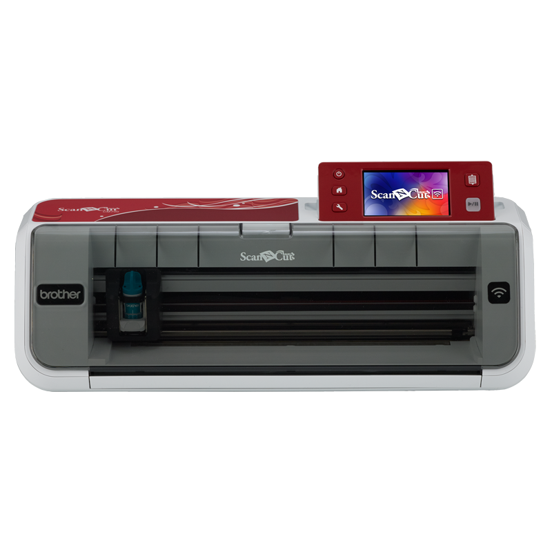 Brother CM700 ScanNCut, Stand-Alone Paper and Fabric Cutting Machine, Wireless, Built in Scanner