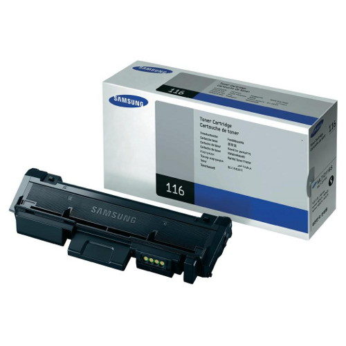 Samsung MLT-D116S Black Toner to suit SL-M2825DW, SL-M2875FW - 1,200 Pages @ 5%