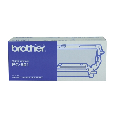 Brother PC-501 Print Cartridge and Roll