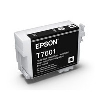 Epson C13T760100 UltraChrome HD, Photo Black Ink Cartridge