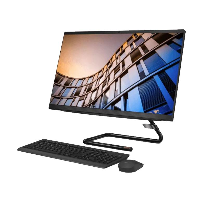 Lenovo IdeaCentre AIO, Core i5-10400T 2.0/3.6Ghz, 8GB, 512GB SSD, 23.8 Inch FHD, Win 10 Home 64, 1 Yr