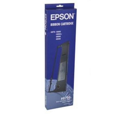 Epson C13S015055 (8766) Black Fabric Ribbon