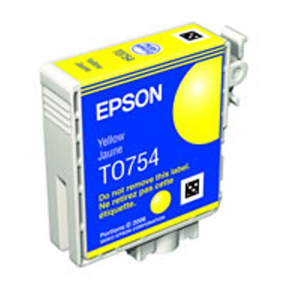 Epson C13T075490 Yellow Ink Cartridge