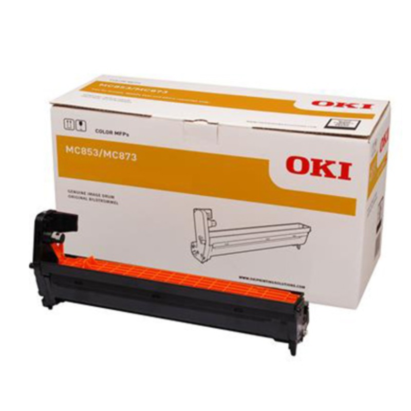 OKI 44844483 EP Cartridge (Drum) For MC853/873 Cyan; 30,000 @ 3 A4 Pages Per Job