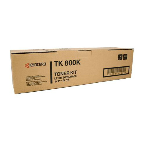 Kyocera TK-800K Black Toner Cartridge