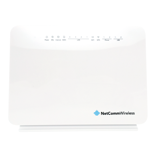 NetComm NF10WV VDSL/ADSL N300 WiFi Modem Router with VOIP