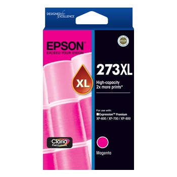 Epson C13T275392 High Capacity Claria Premium Magenta ink (Yields up to 650 pages)