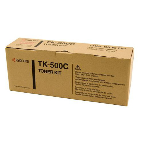 Kyocera TK-500C Cyan Toner Cartridge