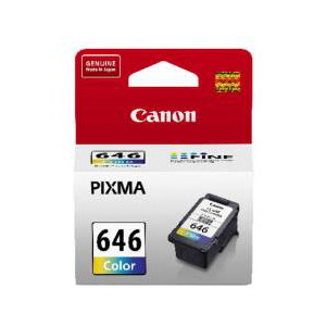 Canon CL646 Colour Ink Tank to suit MG2560 (Yield, up to 180 pages)
